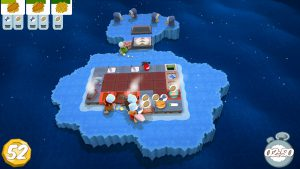 氷上のキッチン